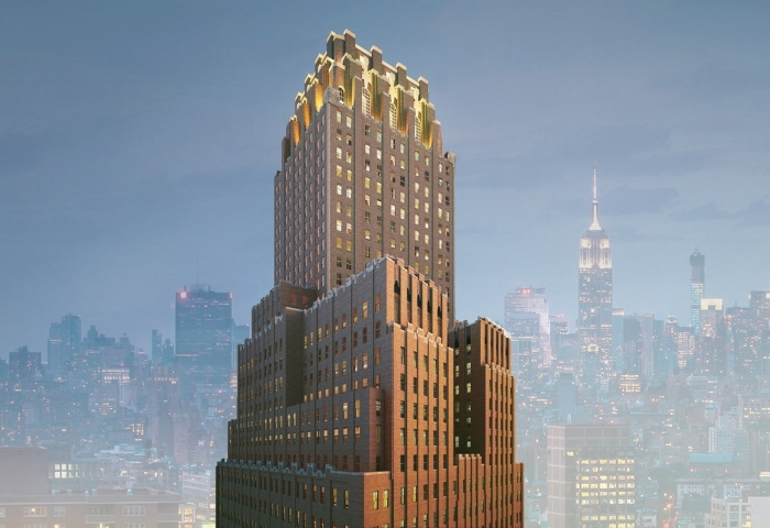 100 Barclay Street Luxury Condominium in TriBeCa