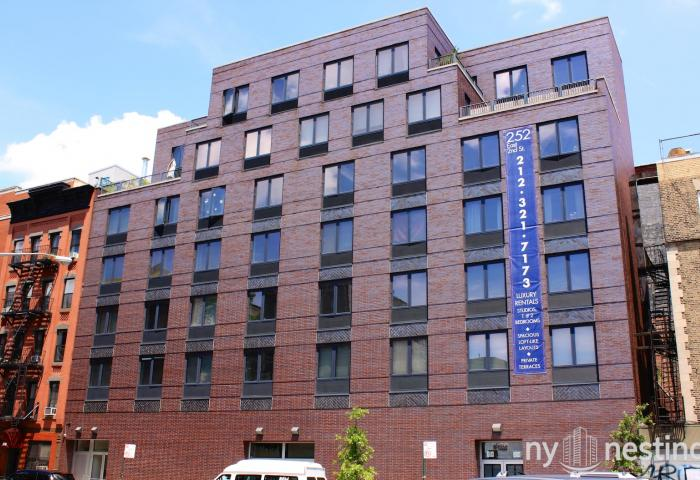 254 East 2nd Street New Development in East Village