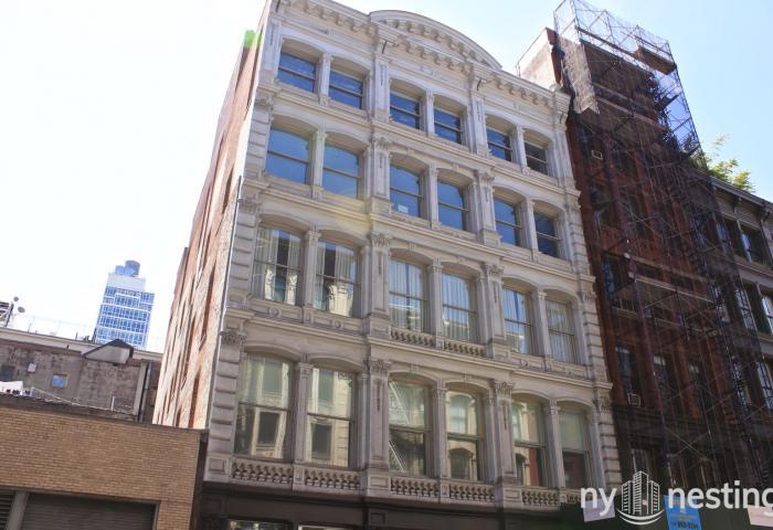 419 Broome Street classic Soho Triplex Penthouse