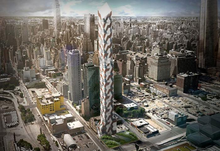 552 West 38th Street new construction in hudson yards