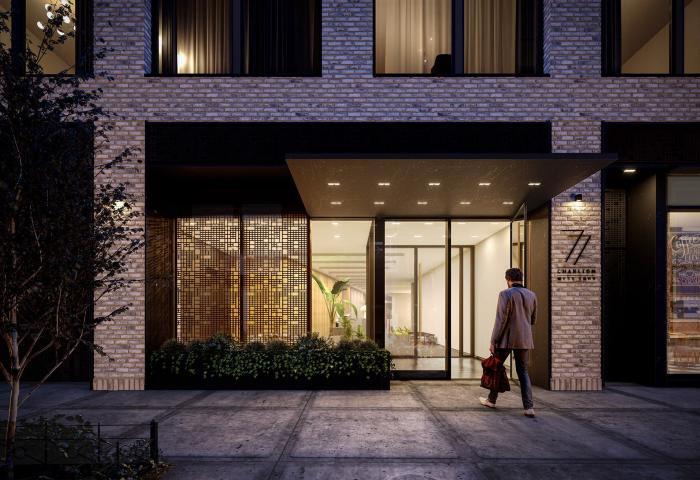77 Charlton Street luxury condos