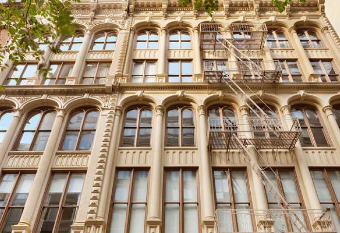 87 Leonard Street - facade
