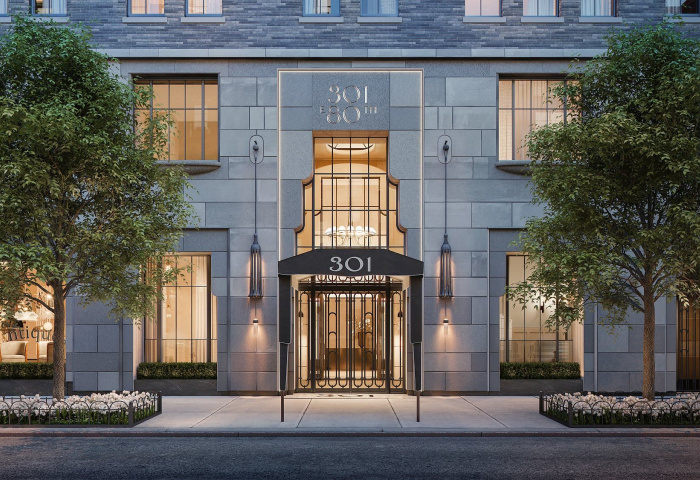 Luxury condos at 301 East 80th Street