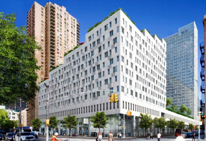 Instrata Hell's Kitchen - 554 West 54th Street - luxury rentals