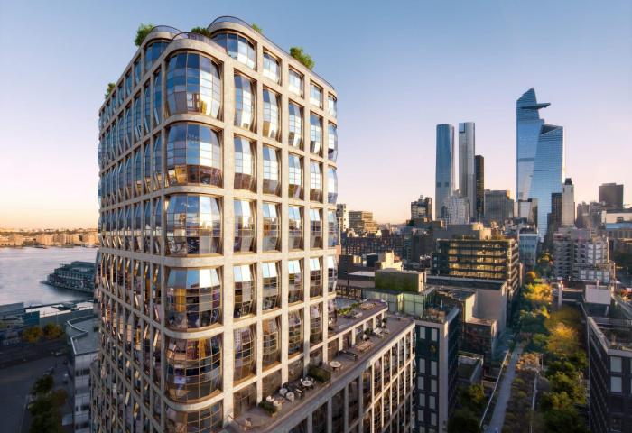 Lantern House 515 West 18th Street Luxury condominiums