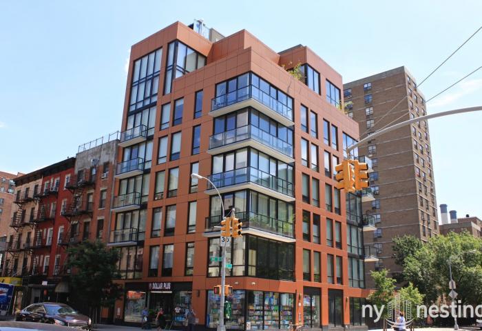 The Copper Building 215 Avenue B Condos in Manhattan
