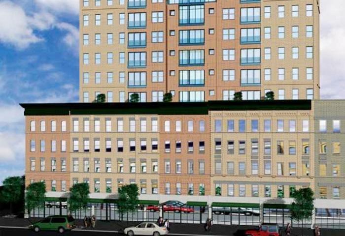 The Gateway Condominium C Facade