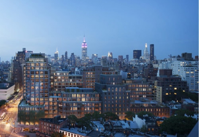 The Greenwich Lane 150 West 12th Street - skyline view