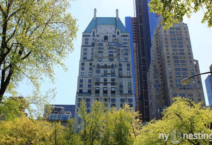 The Hampshire House 150 Central Park South co-op
