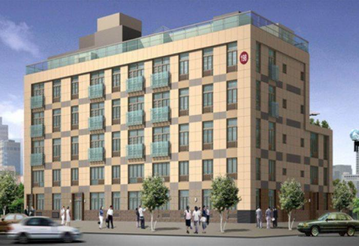 The River Ridge Condominiums facade