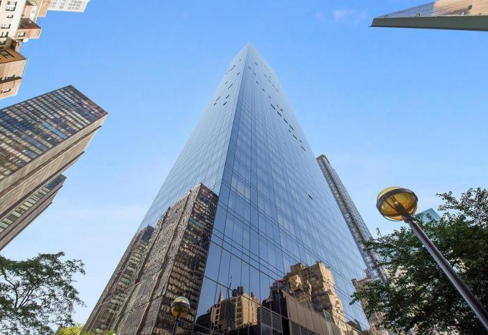 The Trump World Tower 845 United Nations Plaza Luxuury Residential Towers
