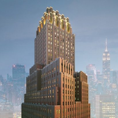 100 Barclay Street Luxury Condominium in TriBeCa