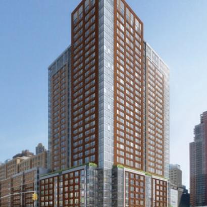 550 West 45th Street New Rental Building