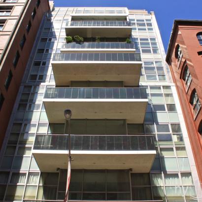 Glass Condominium 88 Laight Street Glass Condominium