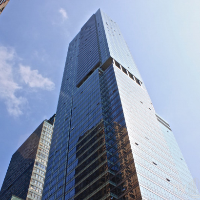 Orion 350 West 42nd St Cool Glass Façade
