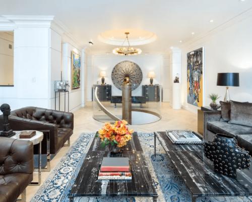 Clive Davis' Ritz Tower Apartment