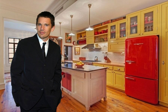 Ethan Hawke New York City Townhouse Under Contract