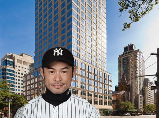 Yankees Ichiro Suzuki rents an Apartment on the Upper East Side