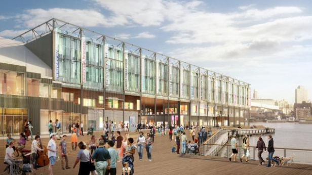 Renderings for South Street Seaport