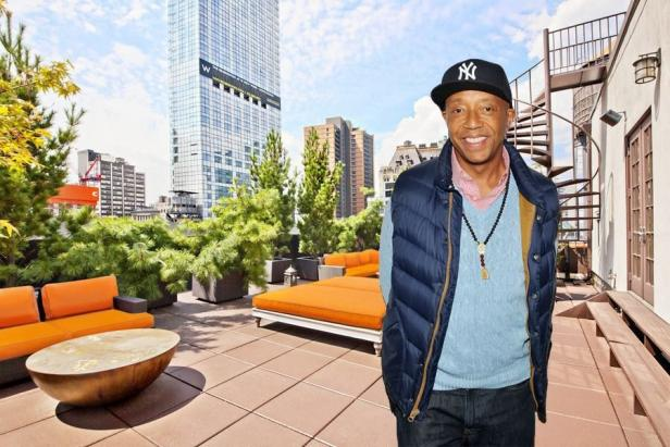 Russell Simmons and 114 Liberty Street Apartment