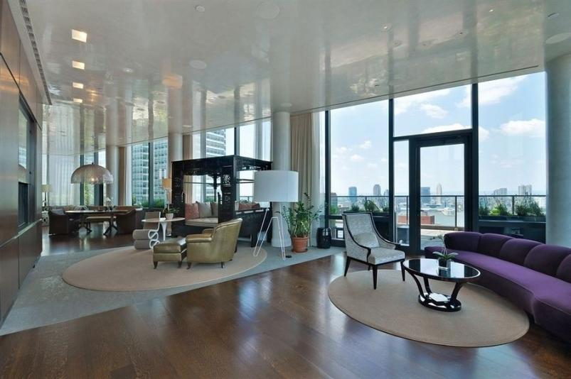 Real estate couple lists tribeca penthouse for 35 million for Real estate in tribeca