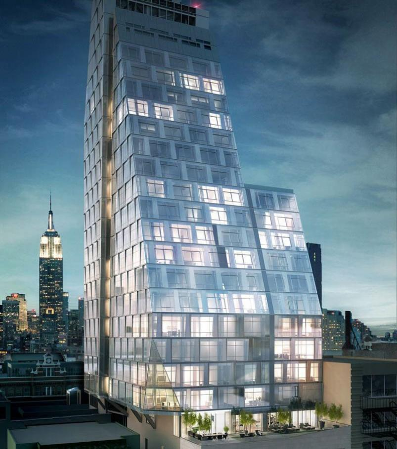 35XV at 35 West 15th rendering