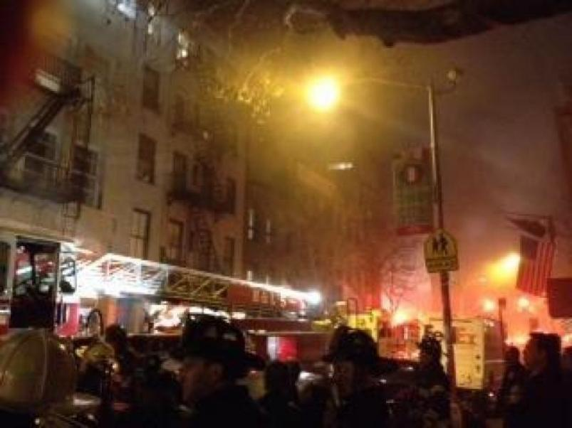 41 Spring Street Fire 1