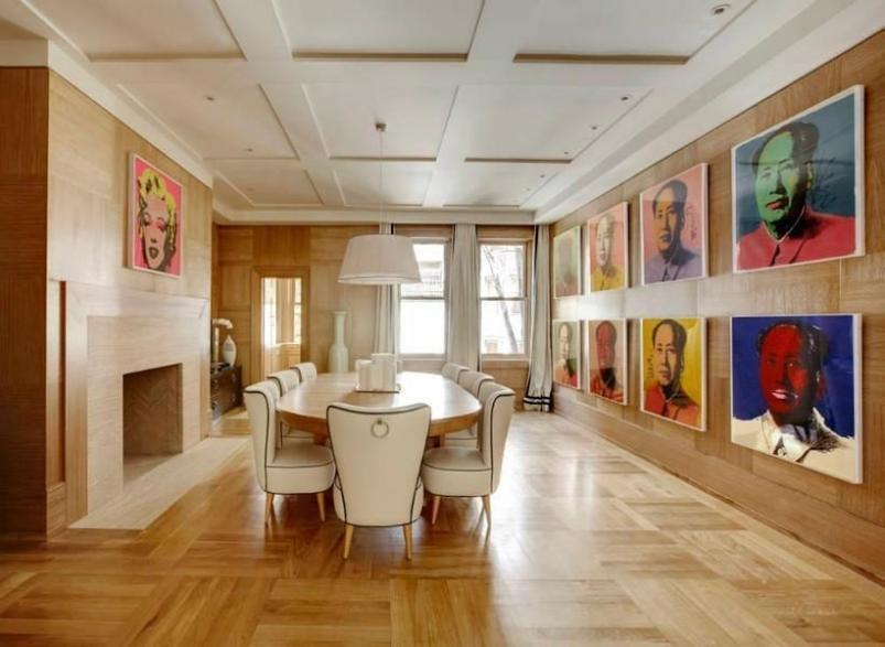 45 East 74th Street dining room