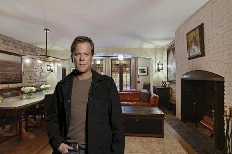 763 Greenwich Street and Kiefer Sutherland