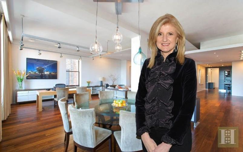 Arianna Huffington's Soho Condo at 158 Mercer Street