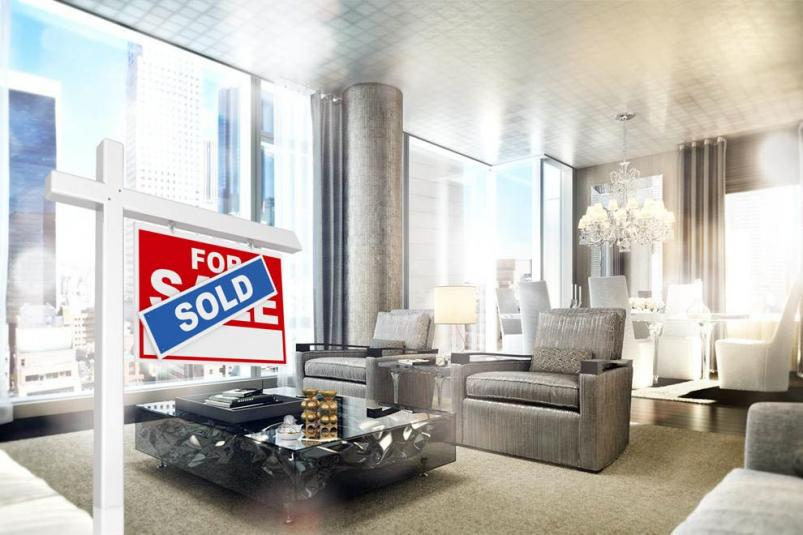 BACCARAT HOTEL AND RESIDENCES   apartment sold