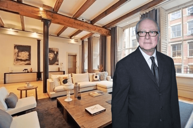 Barry Levinson at 104 Wooster St