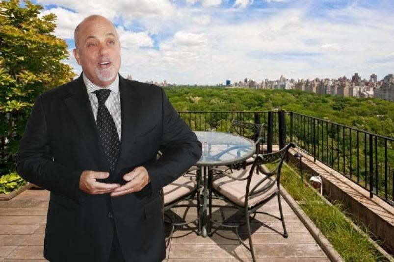 Billy Joel apartment at 128 Central Park South