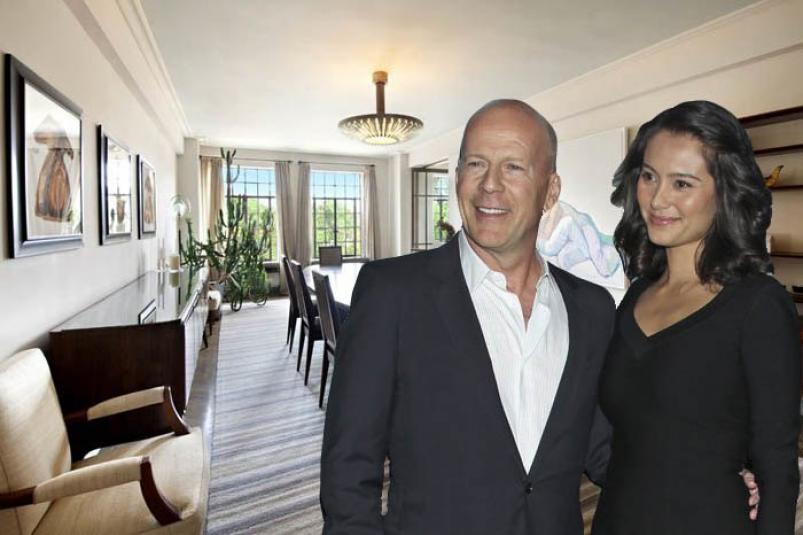 Bruce Willis El Dorado NYC apartment at 300 Central Park West