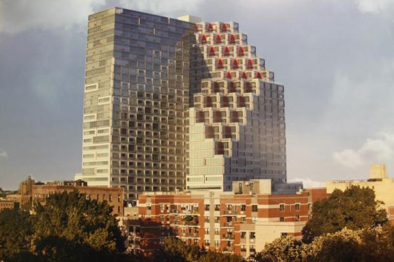 Continuum Company's 32-story East Harlem Towers from dnainfo.com