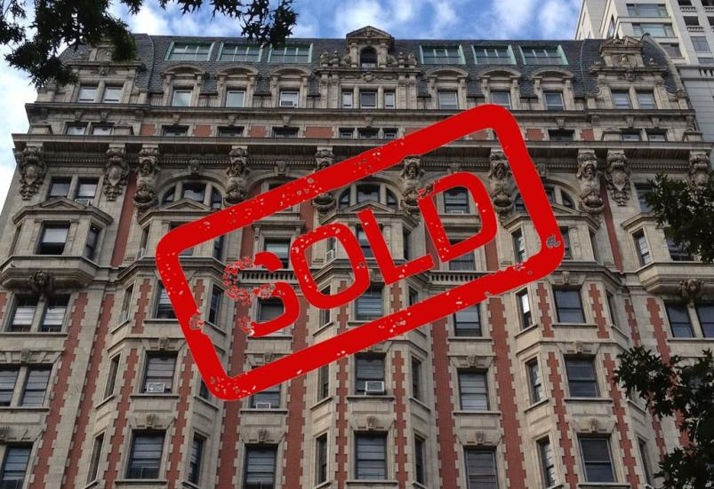 Chatsworth 344 West 72nd St sold