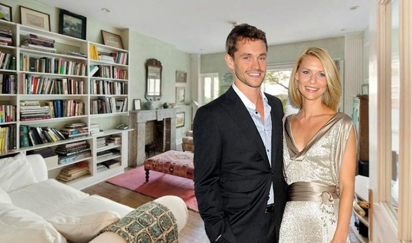 Claire Danes and Hugh Dancy Village Townhouse NYC