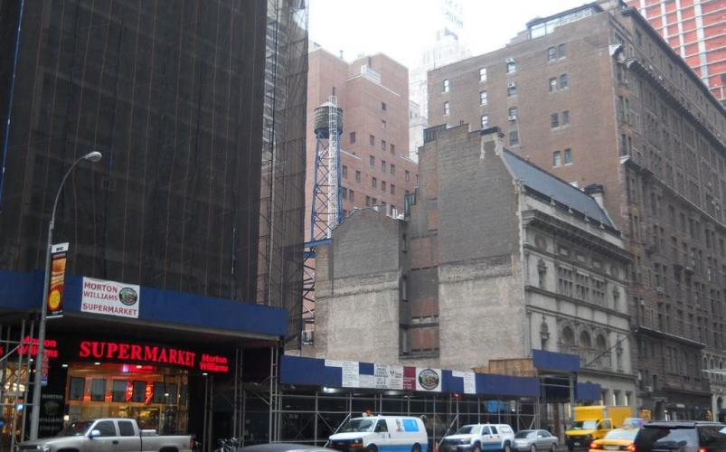 Extell's new project - 217 West 57th Street