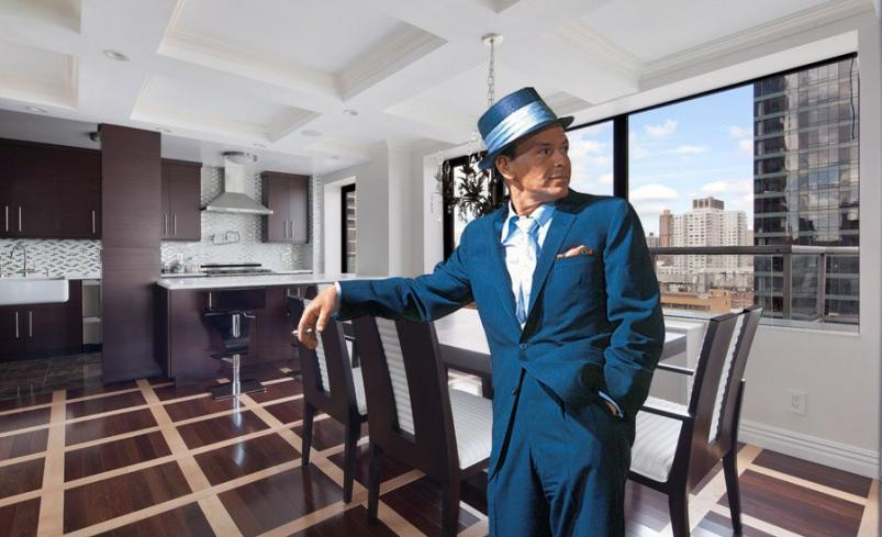 Frank Sinatra and Apartment at 530 East 72nd Street