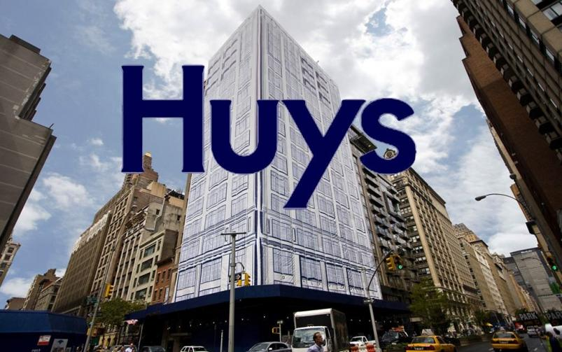 Huys at 404 Park Avenue South in NYC