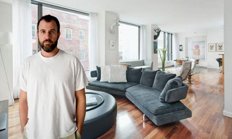 James Frey at 505 Greenwich Street NYC apartment
