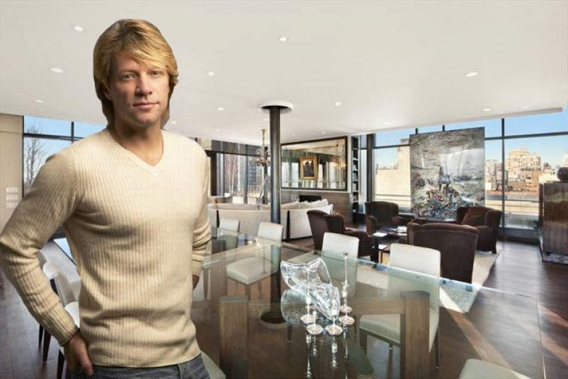 Jon Bon Jovi apartment at 158 Mercer Street