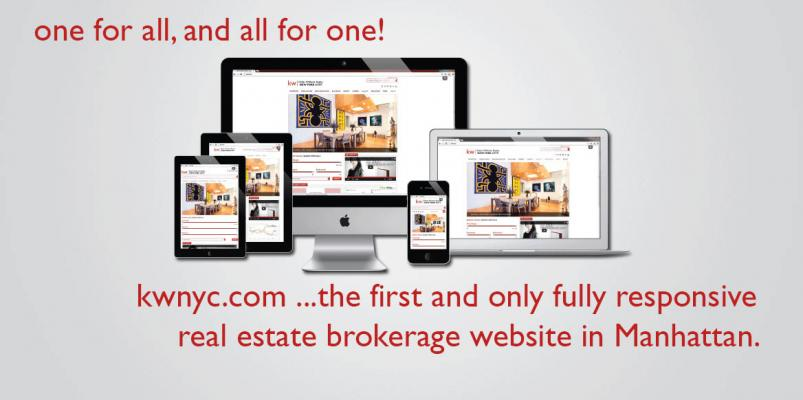 keller williams NYC new website