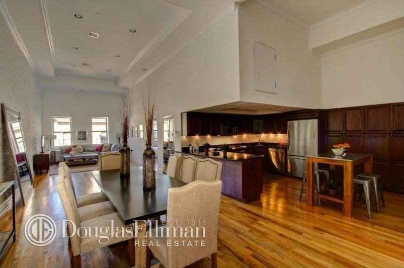 Michael Strahan's revamped dining room and kitchen