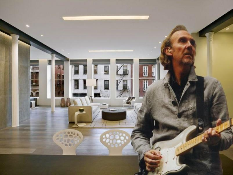 Mike Rutherford at 1 Bond Street nyc
