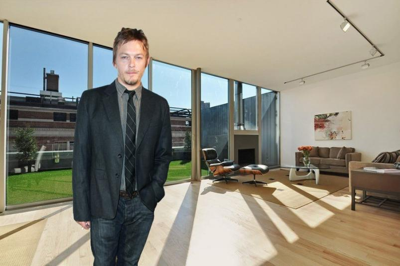 Norman Reedus and 136 Baxter Street Penthouse