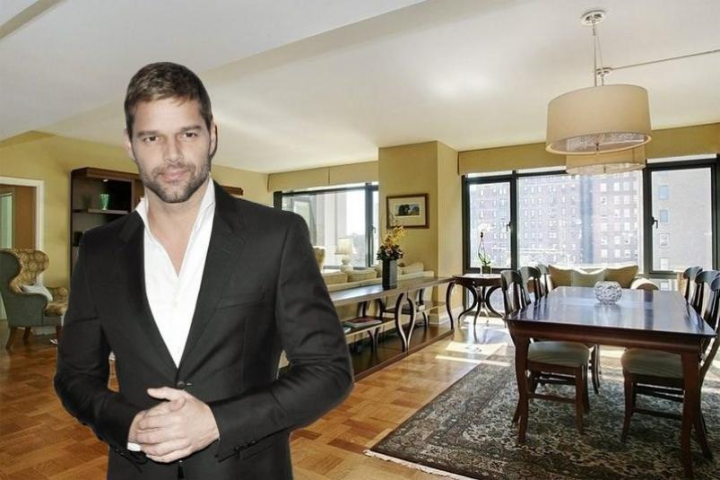 Ricky Martin 170 East End Avenue NYC Apartment