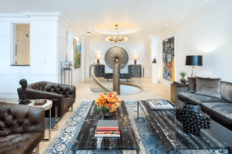 Music Legend Clive Davis Cuts Price on Park Ave Home