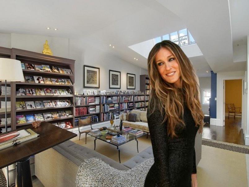 Sarah Jessica Parker lists NYC townhouse