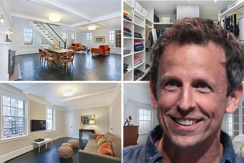 Late Night Host Seth Meyers Moves into Stunning West Village Home